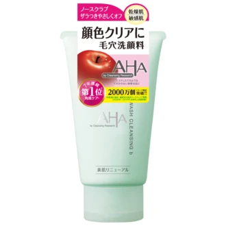 BCL AHA Cleansing Research 3 in 1溫和潔淨洗面膏 樓下百貨 Kaika No Depato